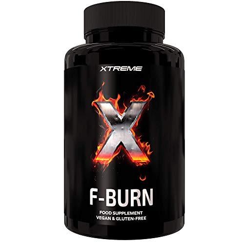 Xtreme F-burn | Quemagrasas Con Ingredientes 100% Naturales | 100 Píldoras Con La Potencia De La Maca Y La Garcinia | Píldoras Veganas Para Perder Peso | Conservar El Músculo | Supresor Del Apetito