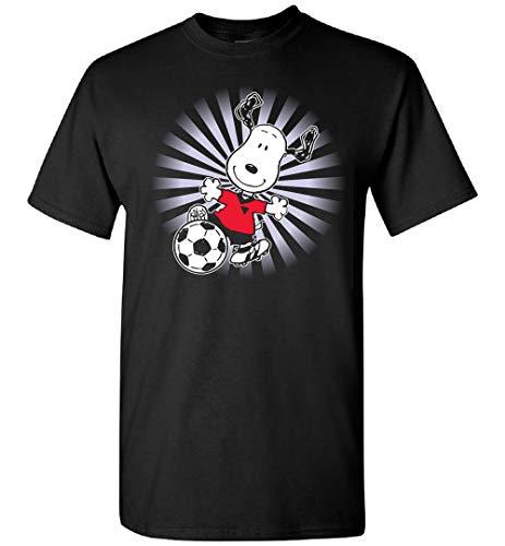 Snoopy Jugando Camiseta De Fútbol, Sudadera, Personalizado