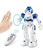 NEWYANG Robot Giocattolo Bambini - Robot Telecomandato con Intelligente Programmabile, Gesture Sensing,Parla,Cammina,Cantando e Balla,USB Ricarica Toy Robot