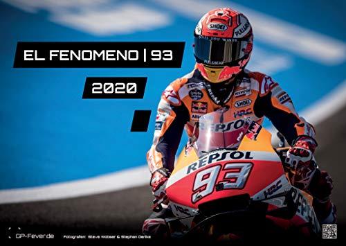 EL FENOMENO 93   Marc Marquez - 2020 - Calendario - Formato: DIN A3   MotoGP