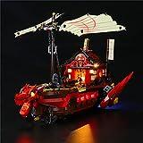 SESAY Juego de iluminación para Lego Technik Ninjago Legacy Ninja, juego de iluminación LED compatible con Lego 71705 (sin set Lego)