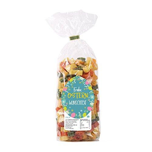 Herz & Heim® Hasen-Nudeln zu Ostern mit eigenem Etikett bedruckt mit Ihrem Wunschtext