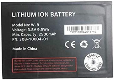 JIE Replacement Battery for Netgear Sprint Fuse AC779S W8 Mobile Hotspot W-8