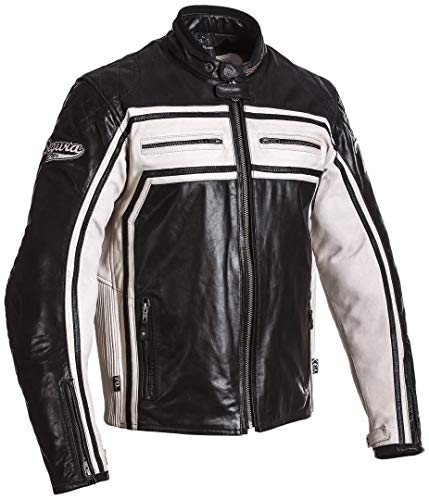 Segura Jones Lederjacke 3XL Schwarz