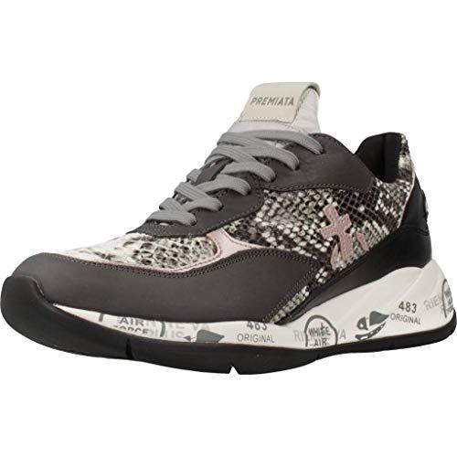 Sneakers Mujer PREMIATA Scarlett 4046 Cuero Gris