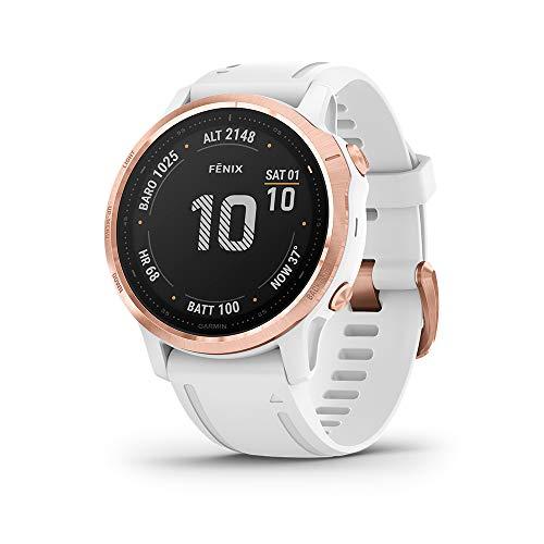 Garmin Fenix 6 PRO Multisport con misurazione della frequenza cardiaca al polso, Impermeabile, Display da 1,3