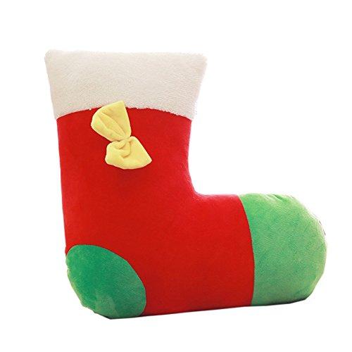 Wicemoon Mode Nouvel An Vacances Chaussette de Noël Couvre-lit Taie d'oreiller jouet Décorations de Noël Creative Cadeau Fille Enfant Taie d'oreiller Série