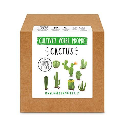 Garden Pocket - Kit de Culture de CACTUS
