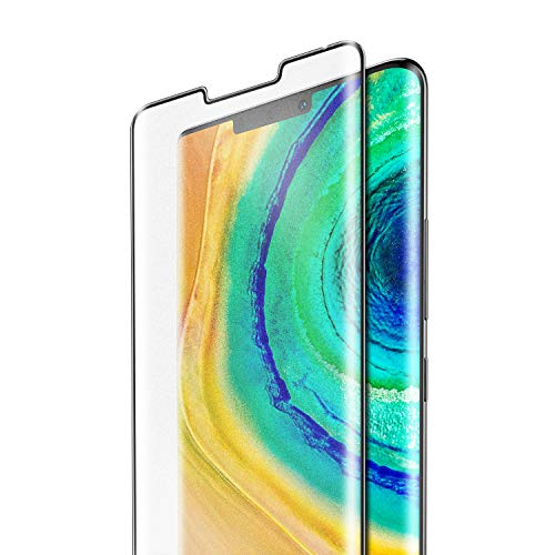SmartDevil [2 Pack] Protector Pantalla Mate de Huawei Mate30 Pro,Cristal Templado Huawei Mate30 Pro,Vidrio Templado [Fácil de Instalar] [Garantía de por Vida] para Huawei Mate30 Pro