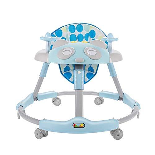 carga m/áxima de 20 kg con un solo toque plegable para beb/és y ni/ñas fabricado en Jap/ón rosa rosa Andador de beb/é con seis ruedas multifunci/ón para ni/ños