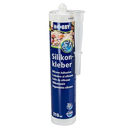 Hobby 11940 Silikonkleber, Kartusche, 310 ml, transparent