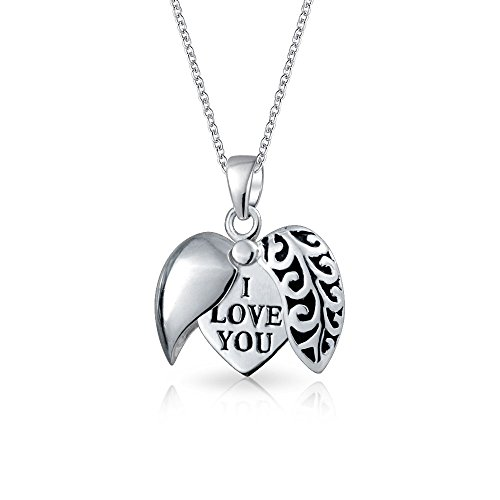 Pendentif Coeur ISADY Argent 925 Je taime
