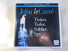 Tinker, Tailor, Soldier, Spy by John le Carre Unabridged CD Audiobook (George Smiley Mystery Series, book 5)