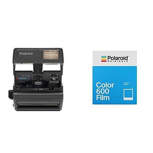Cámara Polaroid 600 + Polaroid Originals - 4670 - Película Color para 600 - Marco Clásico Blanco