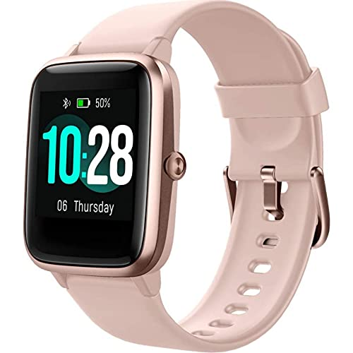 """Willful Smart Watch: 1.3""""TouchScreen Smartwatch,Fitness Trackers With Heart Rate Monito,Waterproof IP68 Activity Trackers Watch Pedometer Stopwatch,Smart ... for iPhone Android Phon (English Edition)"""