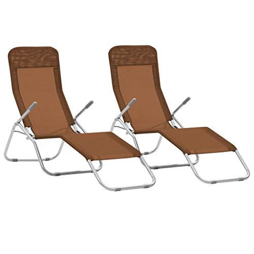 Trépied Chaise Longue de Jardin Chaise Chaise Longue camping longue chaise relax chaise longue bordeaux pliable