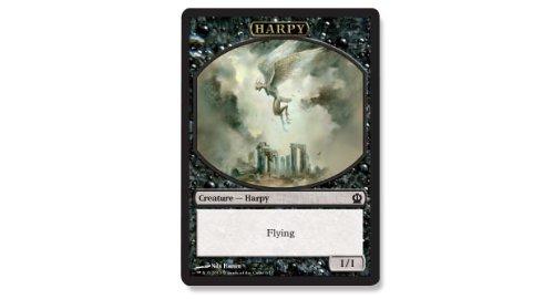 Magic The Gathering - Harpy Token (6/11) - Theros