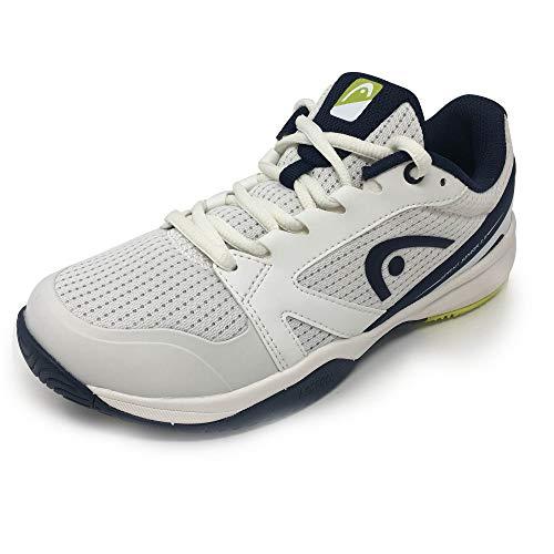 Head Sprint 2.5 Junior Zapatillas de Tenis Unisex Niños, Blanco (White/Dark Blue Whdb), 33 EU