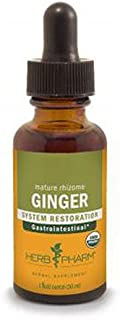 Ginger Extract, 4 Oz by Herb Pharm (Pack of 4)