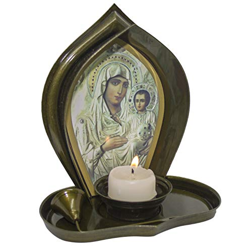 Candle Our Lady of Perpetual Help - Religious Christian Light Collectible Candle Divine Light Caridad del Cobre