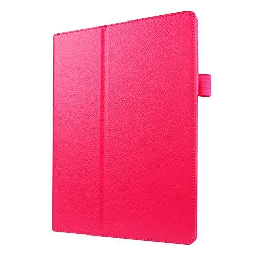 para Lenovo Tab2 A8-50f Tab 3 8 Tb3 850f Tb3-730f 7.0 Essential Tab3-710f / i Tab2 A7-20f Tab2 A10-70 A7600 A10-30 X30f Funda para Tableta-Rosa roja_Pestaña 2 A10-70 A7600