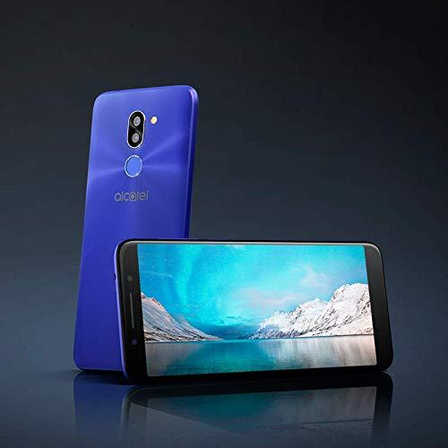 "Oferta de ALCATEL 3X Smartphone Quad Core 1.28 GHz, Android N, 5.7"" HD+ 18:9, 1440x720p, 4G, Cámara DE 13+5 Mpx y Frontal 5Mpx, 3GB de RAM, 32GB de ROM, (Negro) [Versión ES/PT]"