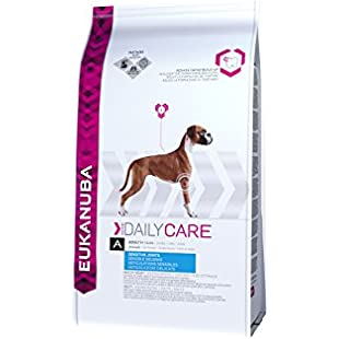 Eukanuba Dry Dog Food Daily Care Adult Sensitive Joints, Chicken, 12.5 kg