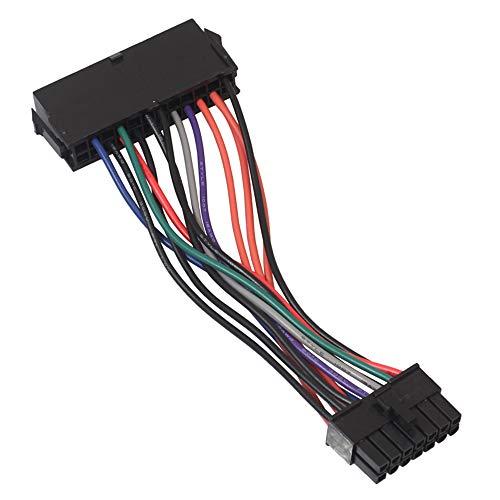 CAIZHAO 24-pins naar 14-pins kabel (15cm), hoofdvoedingsadapterkabel, Plug and Play, voor Lenovo IBM Dell en thinkpad