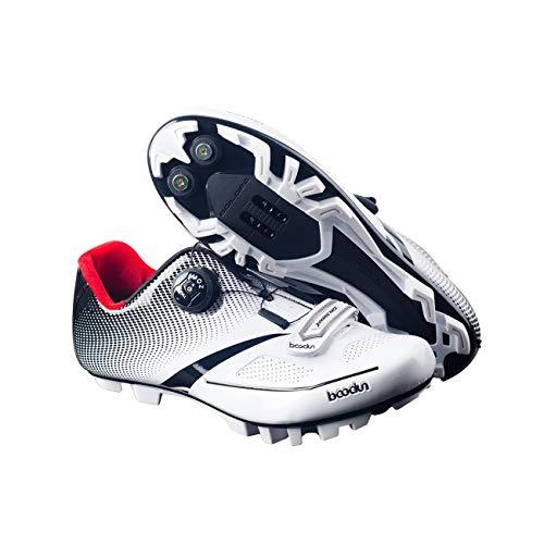 Zapatillas de ciclismo para hombres nuevos 2018 Zapatillas transpirables de Mtb suave...