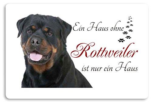 Creativ Deluxe 'Felpudo (Estampado diseño de Animales Perro Felpudo Interior frigo Divertido diseño Felpudo (Rottweiler