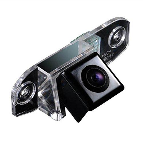 Kalakus Caméra de Recul Voiture IP67 étanche Couleur Haute Définition Grand Angle de Visionnement Avec Plaque D'immatriculation Vision Nocturne pour S80L/S40L/S80/S40/S60/V60/XC90/XC60/C70/S60L