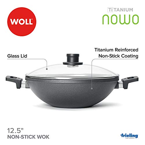 Woll Nowo Titanium Wok with Side Handles