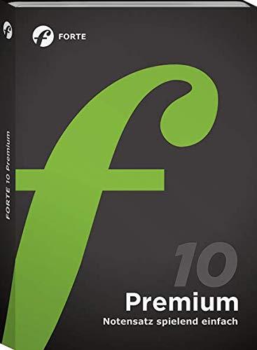 Forte 10 Premium Notationsprogramm für anspruchsvolle Hobby-und Profimusiker