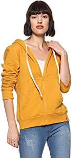 Campus Sutra Women's Cotton Casual Hoodie or Sweatshirts