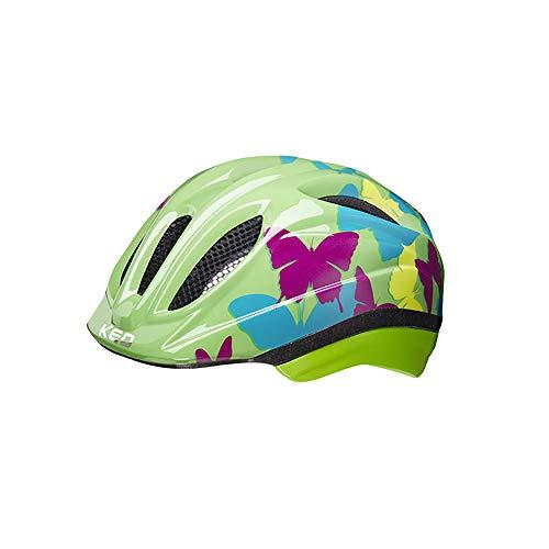 KED Meggy II Trend Helm Kinder Butterfly/Green Kopfumfang XS | 44-49cm 2020 Fahrradhelm