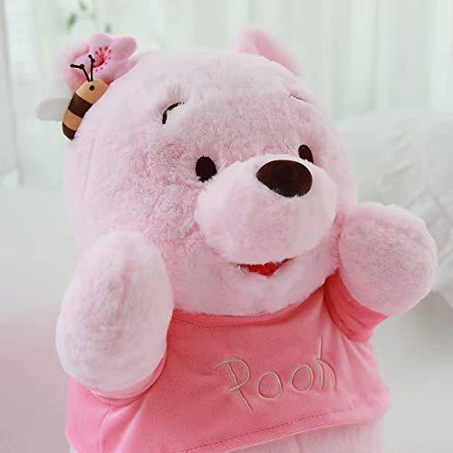 tianluo Stofftier 28cm Sakura Mr.Sanders Plüschtier Niedlich Winnie Ther Pooh Gefüllte Puppe Mädchen Raumdekoration Geschenk Für Freundin Geburtstagsgeschenk