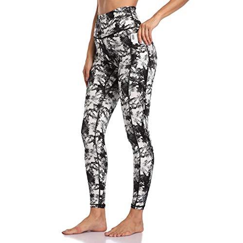 Best Review Of Toimothcn Yoga Leggings for Women Leopard Print High Waist Workout Leggings Running P...