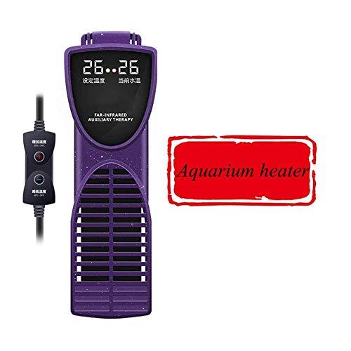 Chunjiao HD Acuario Calentador, Sumergible Nano Tanque de Pescados automático del termostato del Calentador, la Temperatura Ajustable 20-34 ° C, 300w Calentador de Acuario (Color : 300w)