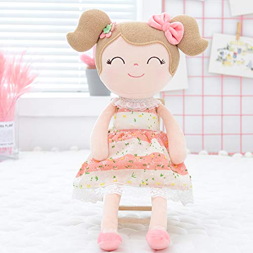 Gloveleya Baby Doll Baby Girl Gifts Cloth Dolls Kids Plush Toys 16'' with Box