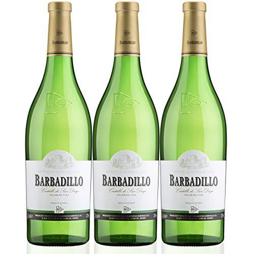 Barbadillo Castillo de San Diego | Vino Blanco Seco con Indicación Geográfica Protegida - Estuche 3 x 75 cl