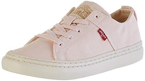 Levi's Damen Global Vulca-Low_s Sneaker, Pink (Light Pink 81), 37 EU