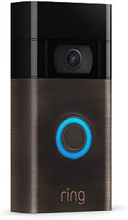 Ring Video Doorbell | 1080p HD-video, avancerad rörelsedetektion och enkel installation | 30 dagars kostnadsfri provperiod...