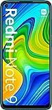Xiaomi Redmi Note 9 - Smartphone 3GB+64GB, NFC, Pantalla FHD+ de 6.53' DotDisplay (Cámara cuádruple de 48MP con IA, MediaTek Helio G85, Batería 5020mAh), Verde, Versión Oficial