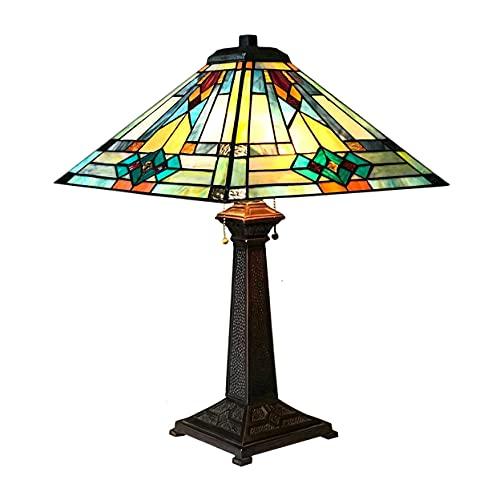 chloe lighting table lamps Chloe Lighting Mason Mission 2 Light Antique Dark Bronze Table Lamp 16