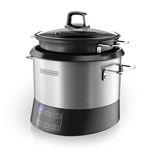 BLACK+DECKER All-In-One Cooking Pot and Rice Cooker Now $31.99 (Was $69.99)