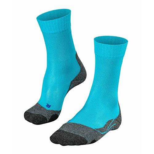 FALKE TK2 Cool Trekking Socken peacock blue 37-38