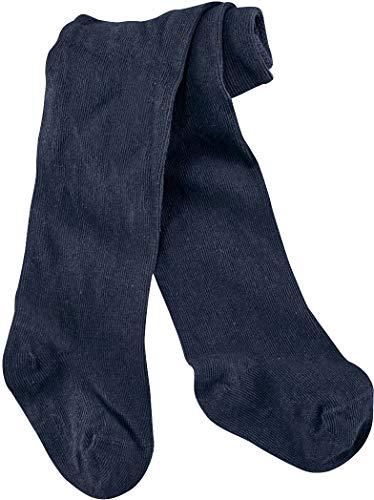 lupilu® Baby Jungen Strumpfhose aus Bio-Baumwolle, Baumwollstrumpfhose (navy, Gr. 62/68)