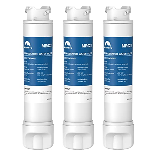 MARRIOTTO ẸPTWFU01 Refrigerator Water Filter, Replacement for Pυresource Ultra II (3 Pack)