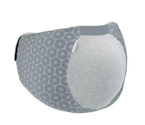 Babymoov Dream Belt - Ergonomischer Gürtel für den Schlafkomfort der schwangeren Frau, elastisch, passt sich an alle Schwangerschaftsphasen an , M/XL, Grau