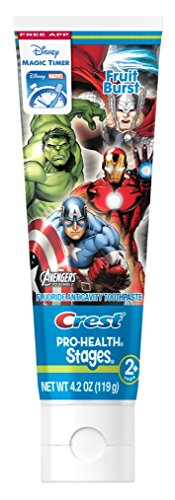 Crest Pro Health Stages Kids Toothpaste, Avengers, 4.2...